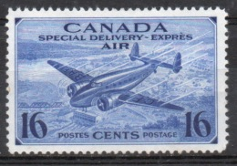 Canada Special Delivery Express Stamp Issued In 1942. - Airmail: Special Delivery