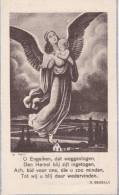Godelieve De Rudder Sint Gillis Waas Guido Gezelle Engel Ange Angel Engelenmis Doodsprentje Bidprentje Image Mortuaire - Images Religieuses
