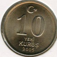 Turquie Turkey 10 Yeni Kurus 2005 UNC KM 1166 - Turquie