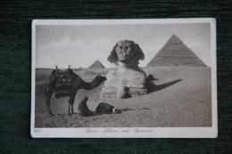 LE CAIRE - Sphinx Et Pyramide - El Cairo