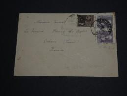 ESPAGNE - Enveloppe De Barcelone Pour La France En 1939 Avec Censure Au Verso - A Voir- L 219 - Marcas De Censura Nacional