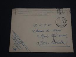 FRANCE - Enveloppe De St Maixent Avec Griffe De Paiement De La Taxe Par Le Destinataire 1947 - A Voir- L 221 - Marcophilie (Lettres)