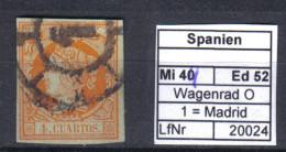 Spanien Mi. 44 O Madrid - 1850-68 Kingdom: Isabella II
