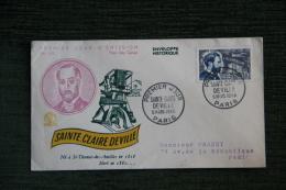 Enveloppe F.D.C. - 1er Jour D´Emission - SAINTE CLAIRE DEVILLE - FDC