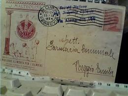 DITTA ROMA  ALIMENTO BAMBINI PUBBLICITA ILLUSTRATA MALTEOLINA  X FARMACIA  VB1924 FM2868 - Santé & Hôpitaux