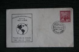 Enveloppe F.D.C. - 1er Jour D´Emission - ANO GEOFISICO INTERNACIONAL - Chile
