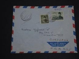 EGYPTE - Env. Pour La France En 1952 - Cachet Bateau Et Affranchissement Timbres Surchargés  - A Voir- L 234 - Ägypten