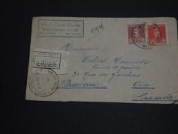 ARGENTINE - Enveloppe En Recommandée Pour La France En 1935 - A Voir- L 236 - Cartas