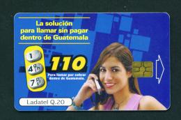 GUATEMALA - Chip Phonecard - Guatemala