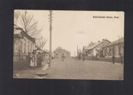 Ukraine PPC Kowel Brest-Litowsk Street 1917 - Ucraina