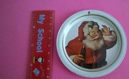 SOTTOBICCHIERE COCA COLA 1983 BABBO NATALE - Coasters