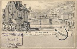 CPA Strasbourg - Das Alte Strassburg  Die Scheinbrücke 1574 - Strasbourg