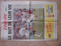 L'équipe 6 Juillet 2006 Coupe Du Monde France Portugal Zidane Henry Thuram - Pub Ricard - 1950 - Heute