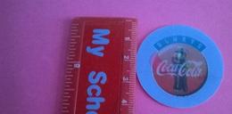 COCA COLA TRICKER IZZY OLYMPIA 96 N.2 VON 30 KANU - Coasters