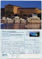 USA - Philadelphia - Art Museum And Waterworks - Used 2008 - Stamp - Philadelphia