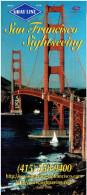 Falt-Werbeprospekt  GRAY LINE - San Francisco Sightseeing (1996) - Reiseprospekte