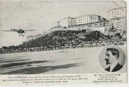 Paul Leprince Aviateur Aéronaute Nices Genes Genova  Italie Sur Nieuport  5 Juin 1911 - Altri