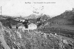 V4028 Cpa 43 Le Puy - Vue D'ensemble Des Quatre Rochers - Le Puy En Velay