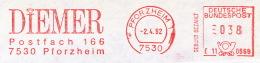 Freistempel 1950 Diemer Diamant - Marcophilie - EMA (Empreintes Machines)
