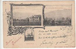 Czechoslovakia: Pozdrav & Oshavice Postcard, Friedland To Prague, 13 Sept 1900 - Czech Republic