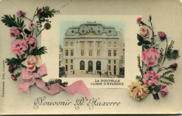 BANQUE(AUXERRE) CAISSE D EPARGNE - Banques