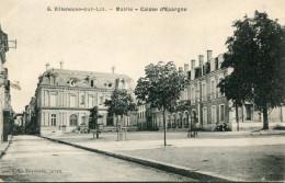 BANQUE(VILLENEUVE SUR LOT) CAISSE D EPARGNE - Banques