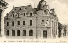 BANQUE(LANGRES) CAISSE D EPARGNE - Banques