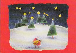 Santa Claus Ingrid Godon Belgium UNICEF - Pittura & Quadri