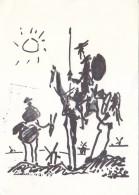 Pablo Picasso - Don Quichote - Pittura & Quadri