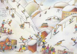 Downhill Skiing Gabriel Filcik Czech Republic UNICEF - Pittura & Quadri