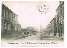 HERSEAUX RUE DE MOUSCRON Ecole Des Frères Maristes - Mouscron - Möskrön