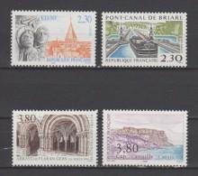 FRANCE / 1990 / Y&T N° 2657/2660 ** : Série Touristique (4 TP) - Gomme D'origine Intacte - Neufs