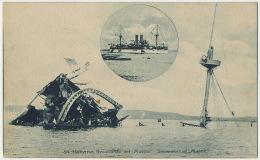 """Spanish American War """"Maine """" Ship Sunk In Havana Cuba - Krieg"""