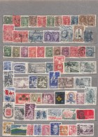 CANADA Different Stamps Used Obliteres Gestempelt (o) Lot 16683 - Timbres