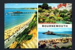 ENGLAND  -  Bournemouth  Multi View  Used Postcard - Bournemouth (from 1972)