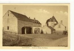 Carte Postale Ancienne Fontaines Les Chalon - Ancienne Abbaye Saint Hilaire - Altri Comuni