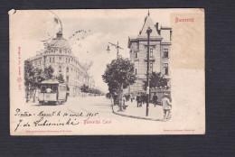 Roumanie - Bucuresci - Bulevardul Carol ( Tramway En L'état) - Roumanie