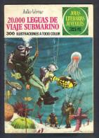 Bande Desinee 20000 LEGUAS DE VIAJE SUBMARINO (BD, 30 Pages), De Jules Verne (Col.Joyas Literarias) (Ref.83743) - Livres, BD, Revues