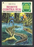 Bande Desinee NORTE CONTRA SUR (BD, 30 Pages), De Jules Verne (Col.Joyas Literarias) (Ref.83746) - Libri, Riviste, Fumetti