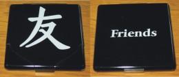 Etui à Cigarettes Métal Noir 9.3 X 8.8 X 1 Cm Neuf - Empty Cigarettes Boxes