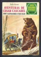 Bande Desinee AVENTURAS DE CESAR CASCABEL (BD, 30 Pages), De Jules Verne (Col.Joyas Literarias) (Ref.83747) - Livres, BD, Revues