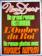 Affiche Magazine Nous Deux N°1520 Roman-photo Hugues Aufray 1976 - Publicité