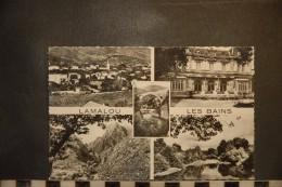 CP, 34, LAMALOU LES BAINS Et Ses Environs Vue Generale Casino Pont Du Diable Gorges D'Heric Bords De L'Orb N°1 Apa Poux - Lamalou Les Bains