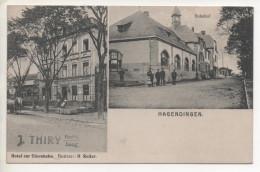 HAGENDINGEN (HAGONDANGE) Hotel Zur Eisenbahn - Bahnhof - 1910 - Hagondange