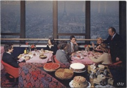 CPM - PARIS - TOUR MAINE MONTPARNASSE - RESTO .... - Edition C.A.P.Théojac - Cafés, Hôtels, Restaurants