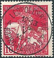 Belgien 1910: Nr. 88 I° - Kampf Gegen Die Tuberkolose - Sonderstempel! - 1910-1911 Caritas