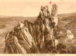 I Sâs D'la Roca A Roccamalatina - Guiglia (con Poesia Sul Retro) - Italia