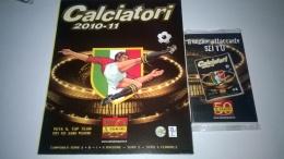 Calciatori 2010-11 Album Vuoto+aggiornamenti Panini Figurine - Panini