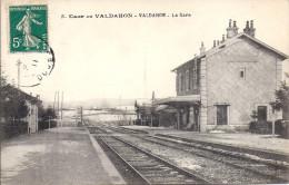 9254....VALDAHON, L´INTERIEUR DE LA GARE - France