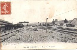9255....VALDAHON, L´INTERIEUR DE LA GARE - France
